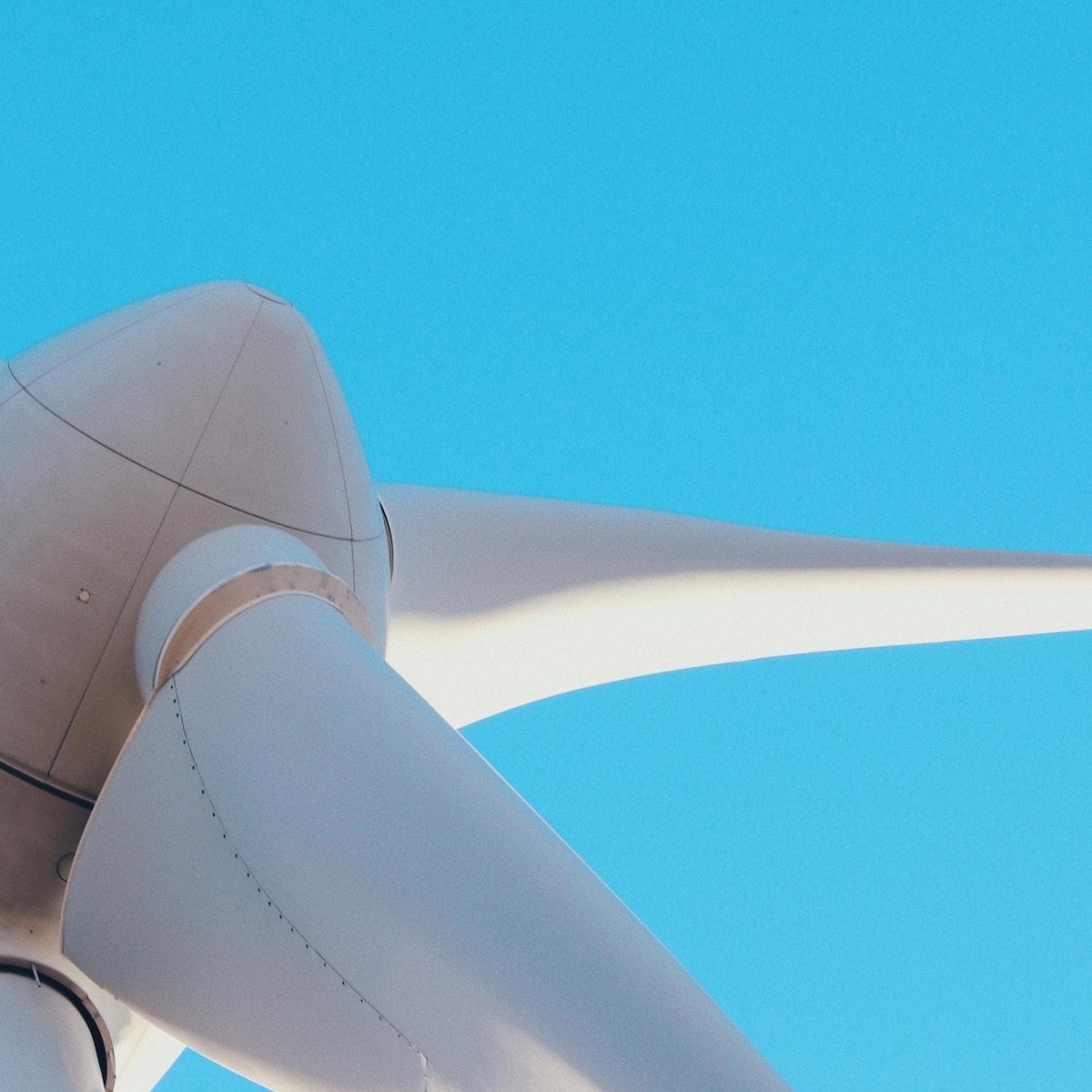 Wind mill closeup